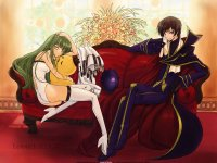Wallpaper Code Geass Hangyaku no Lelouch