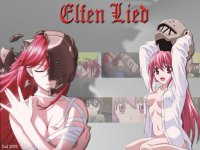 Wallpaper Elfen Lied