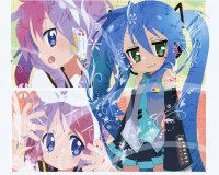 Wallpaper Lucky Star