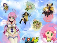 Wallpaper To Love-Ru -Trouble-